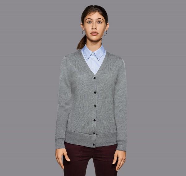 HAKRO Damen Cardigan Merino Wool #140