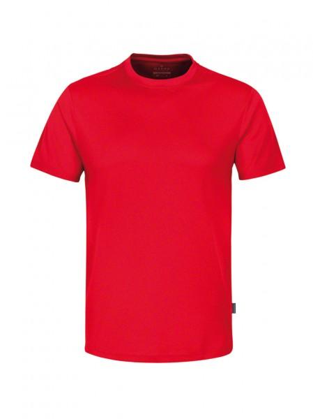 HAKRO T-Shirt Coolmax® #287 - rot