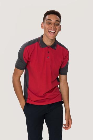 HAKRO Poloshirt Contrast Mikralinar® #839