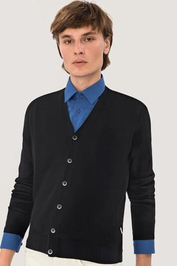 HAKRO Cardigan Merino Wool #150