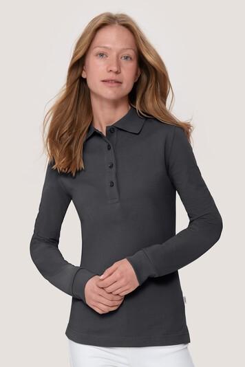 HAKRO Damen Longsleeve-Poloshirt Mikralinar® #215