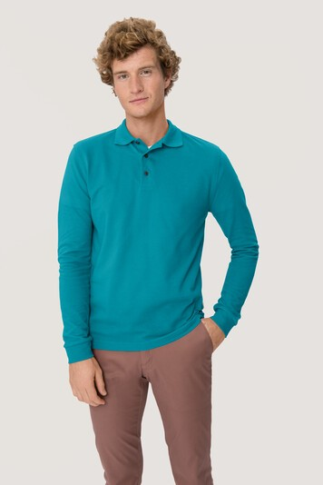 HAKRO Longsleeve-Poloshirt Mikralinar® #815