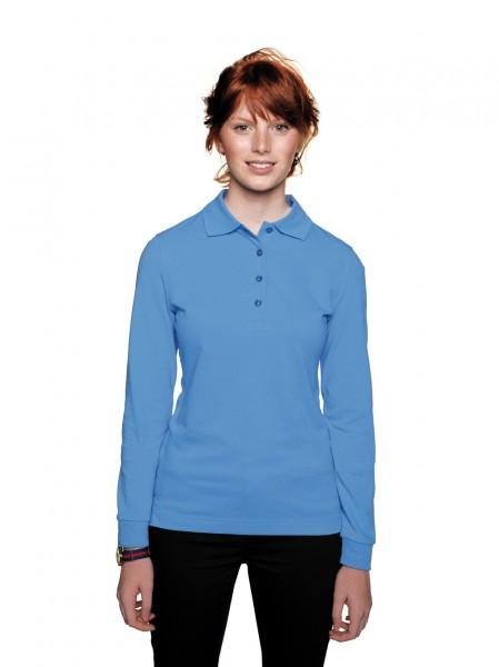 HAKRO Damen-Longsleeve-Poloshirt Performance #215