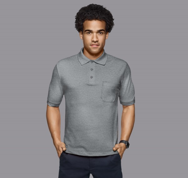HAKRO Pocket-Poloshirt Top #802