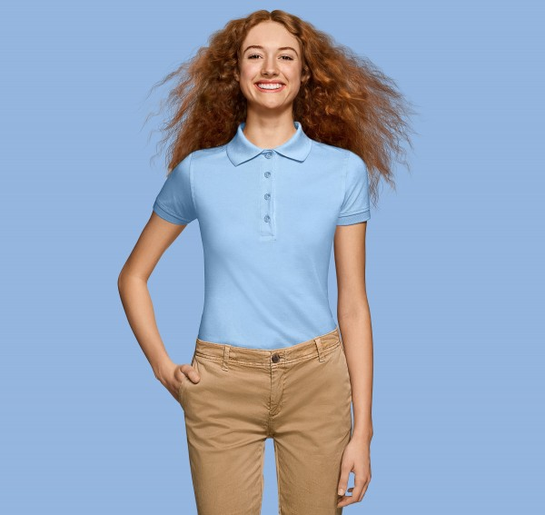 HAKRO Damen-Premium-Poloshirt Pima Cotton #201